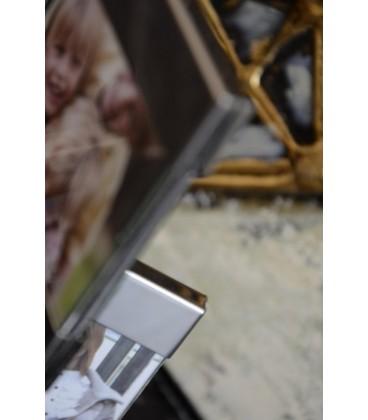 Portafotos brillo 15x5x22 cm