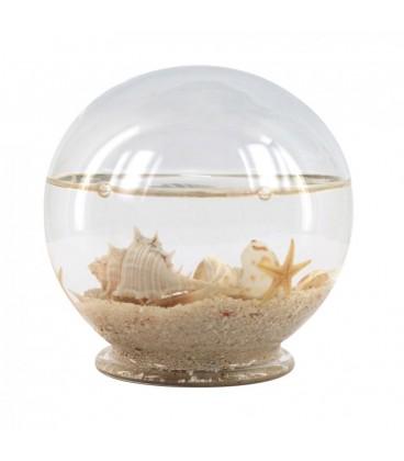 Bola marina cristal 10 cm
