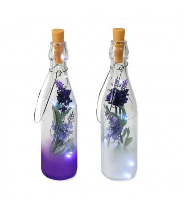Botella con 6 led 28x7x7 cm