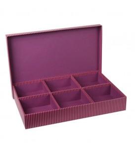 Caja 6 compartimentos 'Lines'