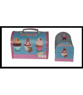 "Caja cofre ""Cupcake"""