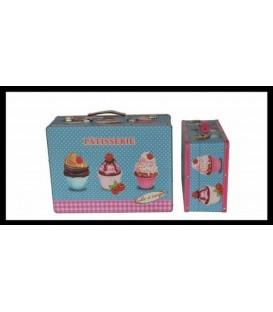 "Maletín ""Cupcake"" - 2 tamaños"