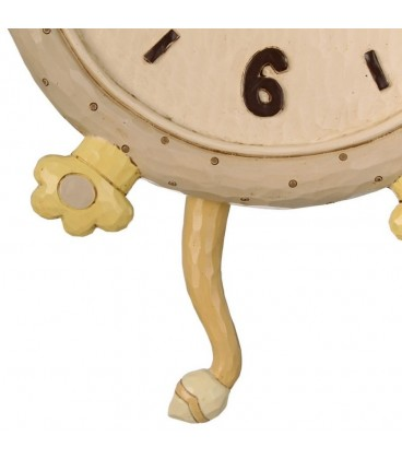 Reloj pared león multicolor