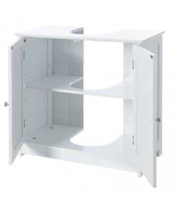 Mueble bajo lavabo 2 puertas 60 x 30 x 60 cm
