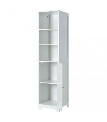 "Mueble 1 puerta y 2 lejas ""Basic White"" 40 x 38 x 160 cm."