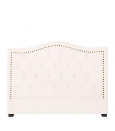 "Cabecero ""capitoné"" lino muebles 160 x 12 x 121 cm"