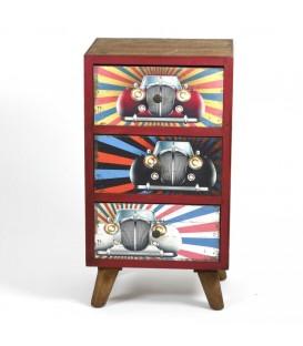 Mueble aux. vintage 73x40x31,5 cm