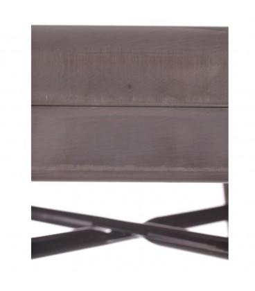 Taburete metal dallas industrial 43,50 x 43,50 x 76,50 cm.