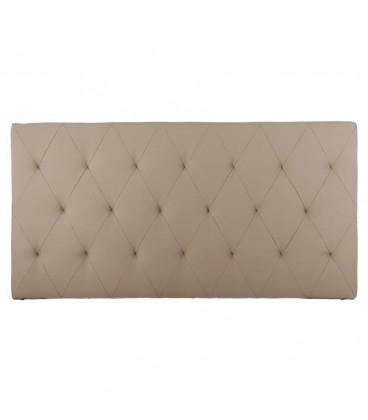 Cabecero 150cm tapizado beige 175 x 8,50 x 90 cm.