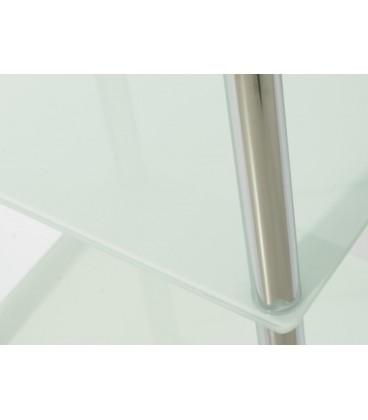 Estantería 3 lejas blanco 40 x 30 x 77 cm
