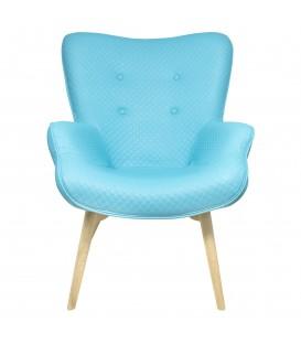 Sillón azul 98x75x70 cm