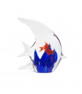 Pez cristal 13x12x3,5 cm