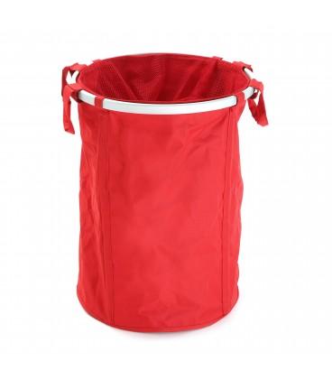 Cesto ropa rojo textil
