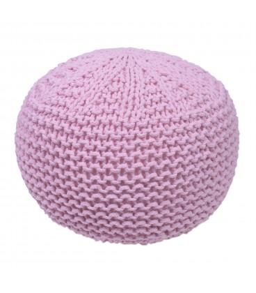 Puff rosa 38x38x27 cm