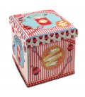 Puff-arcón Happy Sweet 33,5x32x32 cm