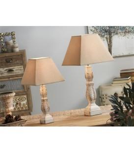 Lámpara Sibyl blanca
