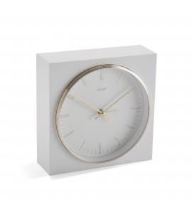Reloj sobrem 16.5x6.5x16.5 cm blanco