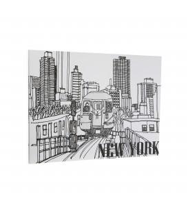 Cuadro New York 60x1.8x45 cm