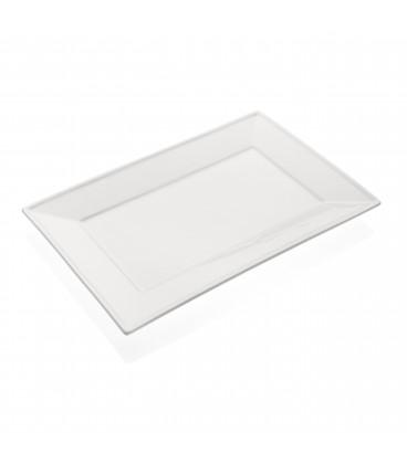 Fuente rectang. 31x20,5x2,5 cm.