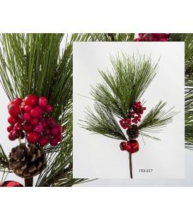 Rama navideña 34 cms