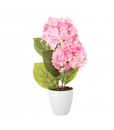 Planta hortensia rosa 11,80x44 cm