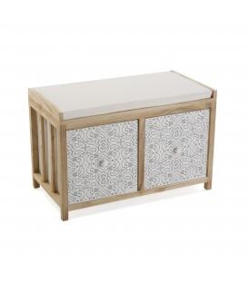 Mueble banco 2 p Dante 64x34x42 cm