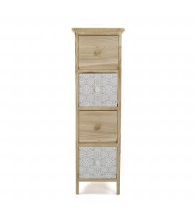 Mueble 4 caj Dante 25x29x82 cm
