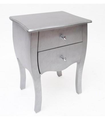 Mesilla Silver 45x36x62 cm
