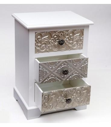 Mesilla Ankara silver 42x33x61 cm