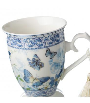 """Mug """"Bluish"""" 12,5x12,5x12 cm"""