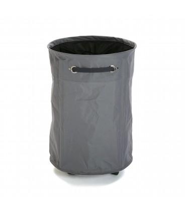 Cesto ropa c/ruedas 40x40x60 cm