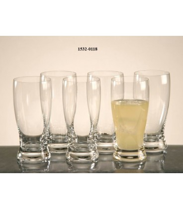 "S/6 Vasos altos ""Lady"" 350 ml"