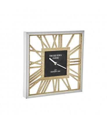 Reloj Pared 20x20x3,5 cm