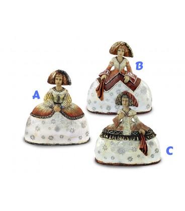 Figura Menina - 3 modelos