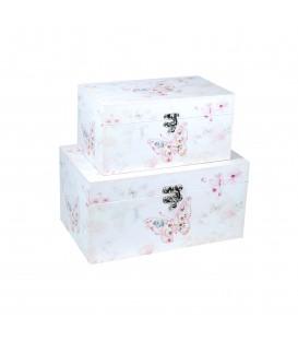 """Caja """"Mariposas"""" - 2 tamaños"""