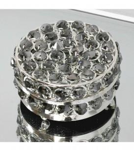 Caja redonda cristal ahumado