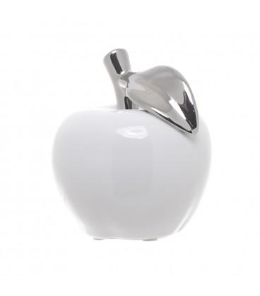 Manzana blanca/plata - 2 tamaños