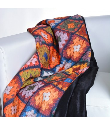 """Manta """"Crochet"""" - 2 modelos"""