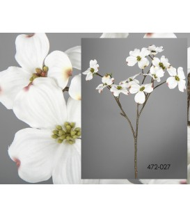 Rama cerezo blanca 70 cm