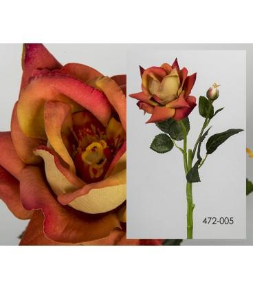 Rosa terciopelo 37 cm - 2 colores