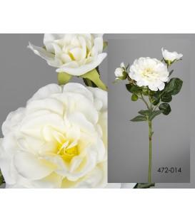 Rosa blanca ramificada 72 cm