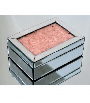 Caja espejo piedras - 2 colores