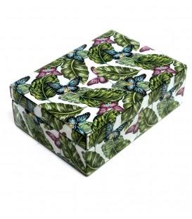 Caja ramas color cristal