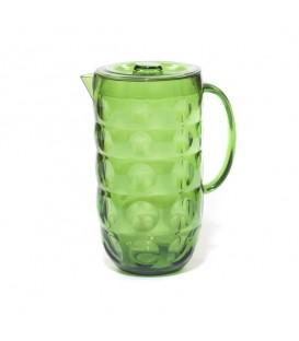 Jarra verde círculos 2 litros