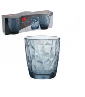 S/3 Vasos Diamond Ocean 39 cls