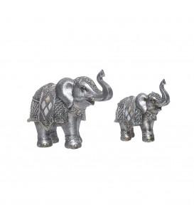 Elefante plata- 2 tamaños