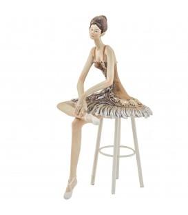 Bailarina sentada 25x13x11 cm