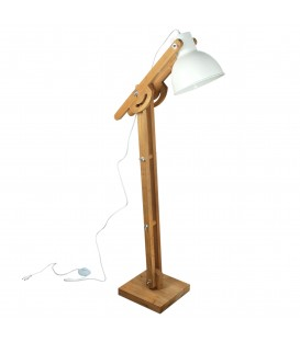 Lámpara pie 26x26x132 cm