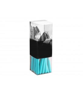 Cubiertos 24 piezas Lummer azul acero