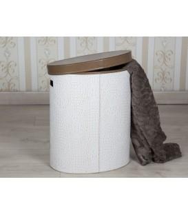 Cesto ropa polipiel 45x30x51 cm